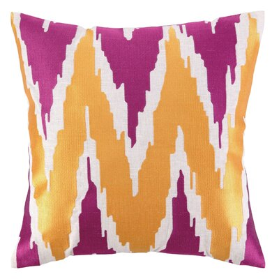 Sis Boom by Jennifer Paganelli Sarah Linen Embroidered Pillow