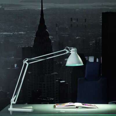 "LUXIT Arki Tek 16"" H 185 Table Lamp"