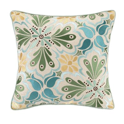 Kate Spain Talaverav I Linen Embroidered Pillow