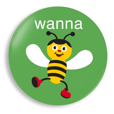 Jane Jenni Wanna Bee Plate