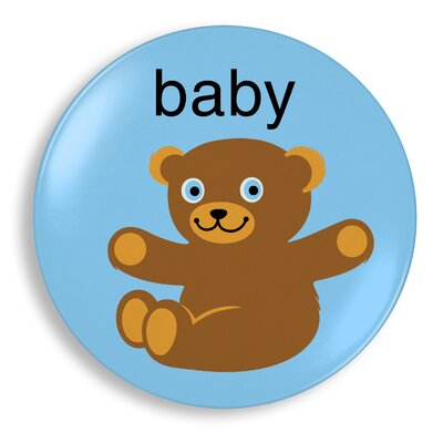 Jane Jenni Inc. Baby Bear Plate