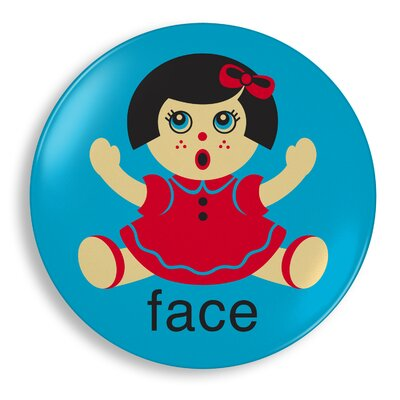 Jane Jenni Doll Face Plate