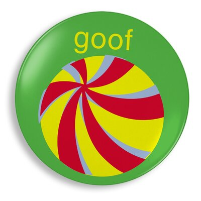 Jane Jenni Inc. Goof Ball Plate
