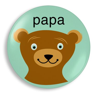 Jane Jenni Inc. Papa Bear Plate