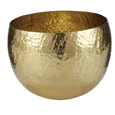 Lazy Susan USA Hammered Brass Bowl