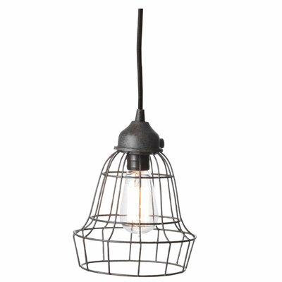 Lazy Susan USA Wire Barrel Pendant Light