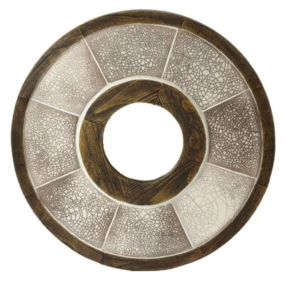 Lazy Susan USA Iris Raku Wall Décor