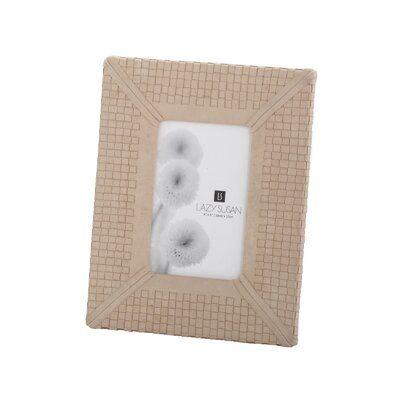Lazy Susan USA Khaki Woven Leather Frame