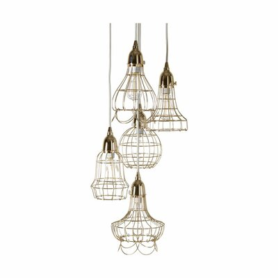 Lazy Susan USA Wire 5 Pendant Lamp