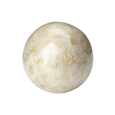 Lazy Susan USA Metallic Garlic Ball Figurine