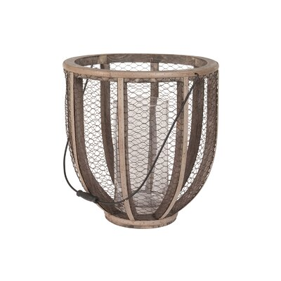 Lazy Susan USA Wire Atlas Hurricane Vase