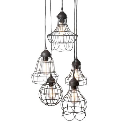 Lazy Susan USA Wire 5 Light Pendant