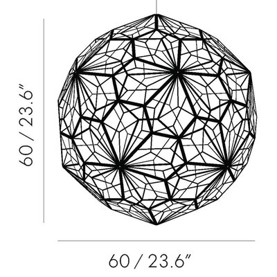 Tom Dixon Etch Web Pendant