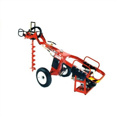 General Equipment 13 HP Towable Hole Digger with Auger, Coupler and Extension Options