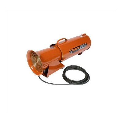"General Equipment BLOW-R-PAC 8"" DC Electric, Portable Ventilation Blower with 8"" x 25' Flexible Duct"