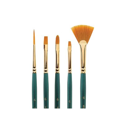 Winsor & Newton Regency Gold Liner Decorative Painting Brush (Set of 5)