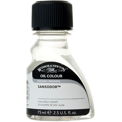 Winsor & Newton Sansodor Low Odor Solvent Bottle