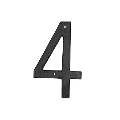 Montague Metal Products Inc. Textured House Number