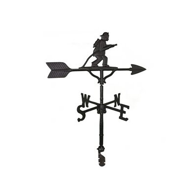 Montague Metal Products Inc. Fireman Weathervane