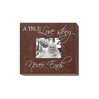 Forest Creations A True Love Story Never Ends Home Frame