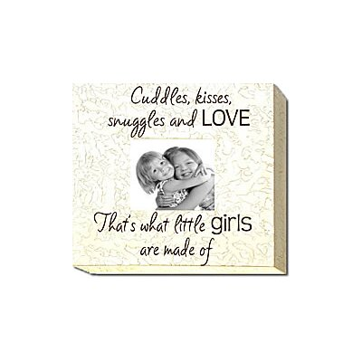 Forest Creations Cuddles, Kisses, Suggles And Love... Child Frame