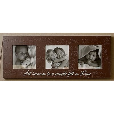 Forest Creations Triple Photo Frame