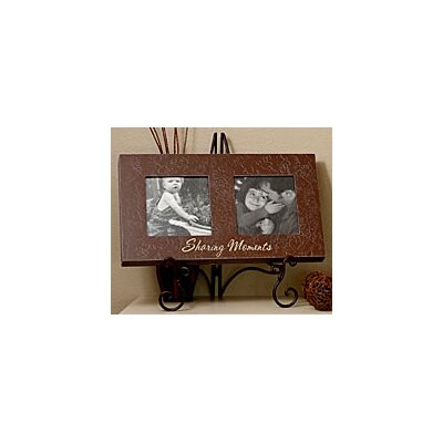 Forest Creations Double Photo Frame