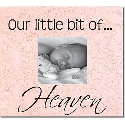 Forest Creations Our Little Bit Of...Heaven Picture Frame