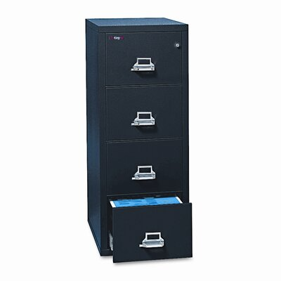 FireKing Insulated 4-Drawer Vertical File