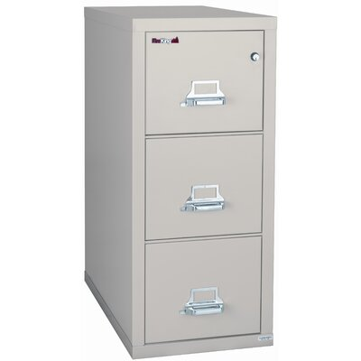 Fire King 2-Hour Rated Three-Drawer Vertical Letter File