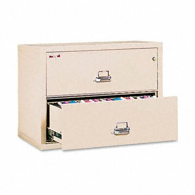 "Fire King 2 Drawer Lateral File, 31.13"" Wide, Ul Listed 350"