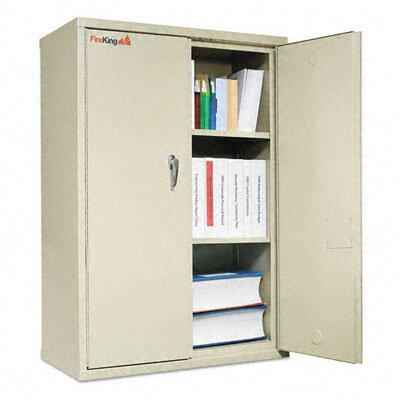 Fire King Storage Cabinet, Ul Listed 350 for Fire