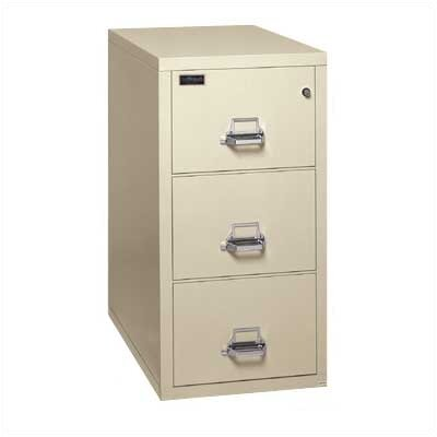 Fire King 2-Hour Rated Three-Drawer Vertical Legal File