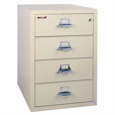 "Fire King 31"" W Four-Drawer Lateral File"