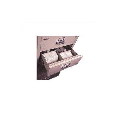 "Fire King 5-Section Lateral File Document Insert for 4"" H x 6"" W Cards"