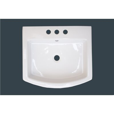 Ceramic Wall Mount / Vessel Bathroom Sink - IMG-435 / IMG-436