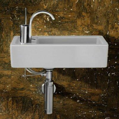 Small Rectangular Sink : IMG Small Rectangular Bar Single Hole Bathroom Sink - IMG-7628