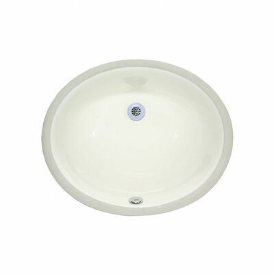 Oval Undermount Bathroom Sink - C2010