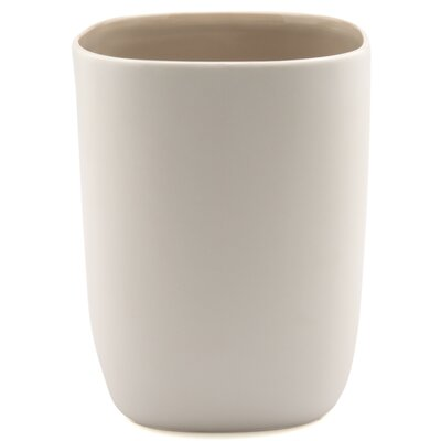 Waterworks Studio Modern Ceramic Wastebasket