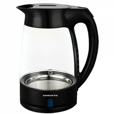 Ovente KG82 1.7L Cord-Free Glass Electric Kettle