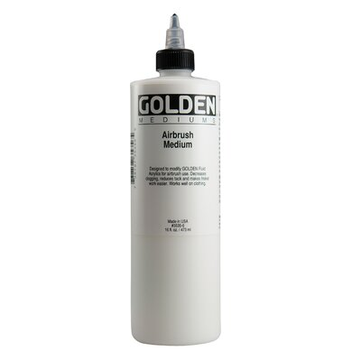 Golden Artist Colors 16 Oz Airbrush Medium