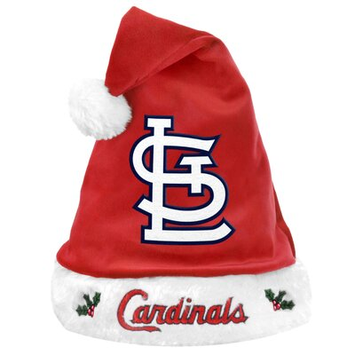 Forever Collectibles MLB St. Louis Cardinals Santa Hat