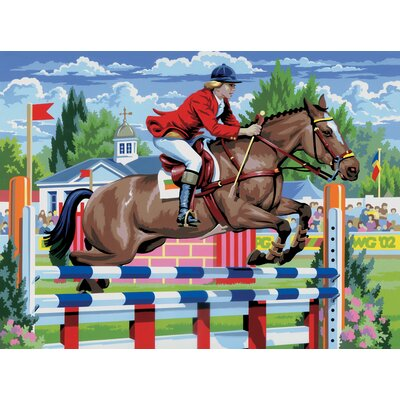 Royal & Langnickel Painting by Numbers Large Show Jumping Junior Set