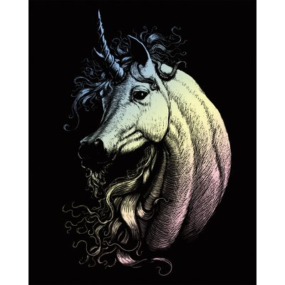 Royal & Langnickel Holographic Proud Unicorn Art Engraving