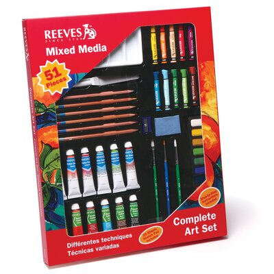 Reeves Mixed Media Art Set