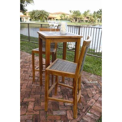 Panama Jack Outdoor Leeward Islands Pub Table