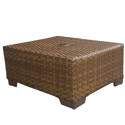 St barths coffee table wayfair for Wayfair outdoor coffee table