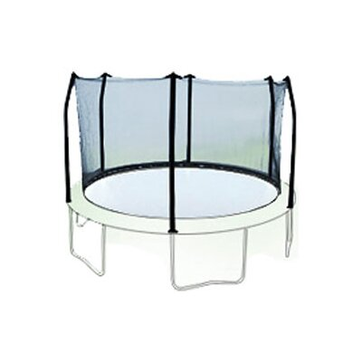 Sports Oh 15' Enclosure Trampoline Net Using 6 Poles