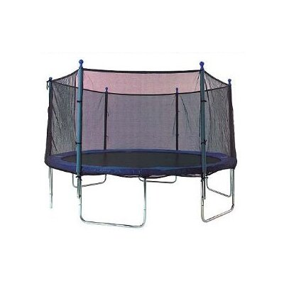 Sports Oh Trampoline Net Using 6 Straight Poles