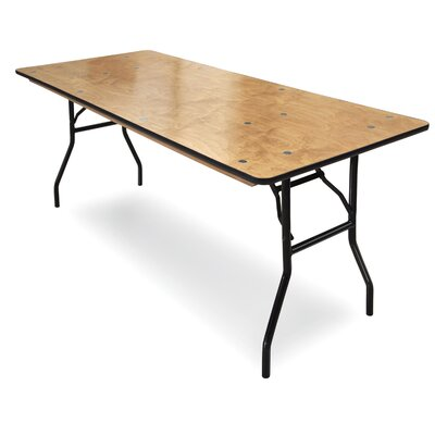 ProRent Plywood Folding Table